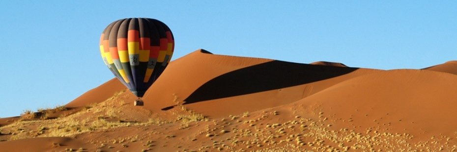Sossusvlei hot air balloon flights